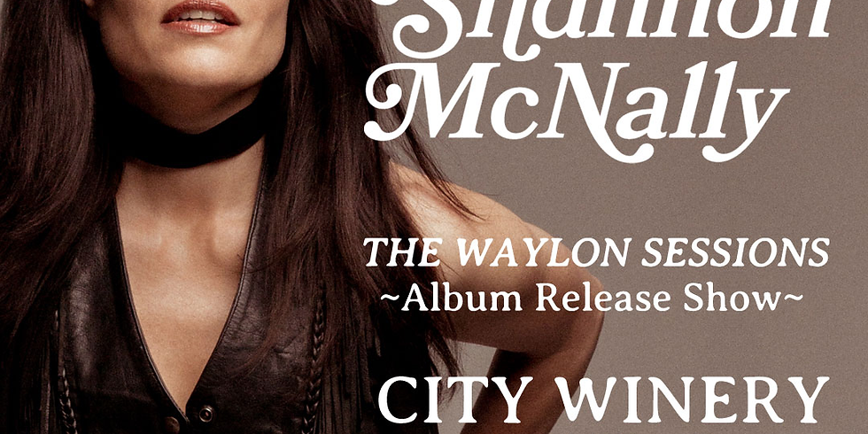 Shannon McNally: The Waylon Sessions Album Release Show