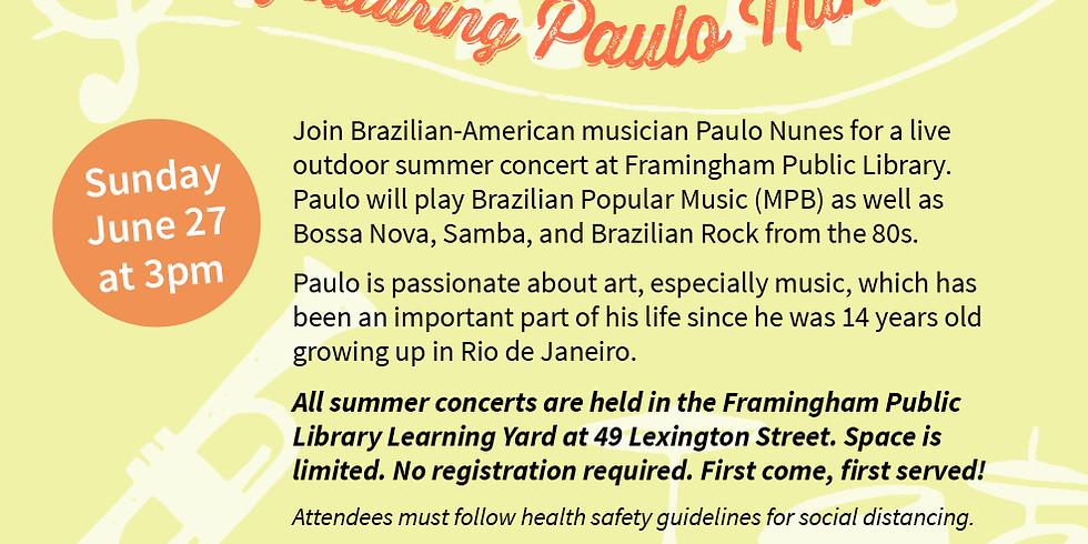 Framingham Sounds World Music Concert Series: Paulo Nunes