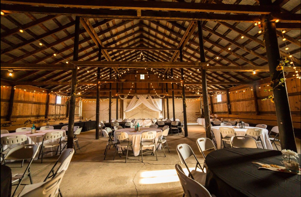 Inside Reception BArn