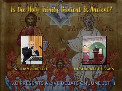 Trinity Debate in November!