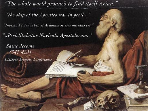 Saint Jerome Contra Arianism