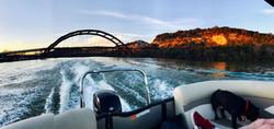Pontoon boat, Austin Texas, Boat rental