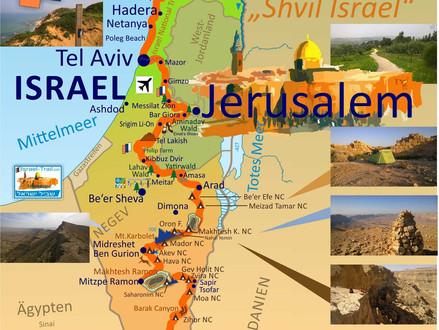 11 dingen die u moet weten voordat u de Israel Trail gaat wandelen