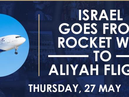 'Aliyah Superweek' - 500 immigranten arriveren in Israël - duizenden anderen zullen volgen