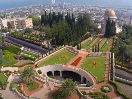 Een bezoek aan de Bahai tuinen in Haifa (video)