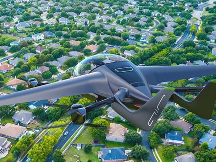 AIR ONE: de elektrische 'vliegende auto' die consumenten de vrijheid geeft om te vliegen