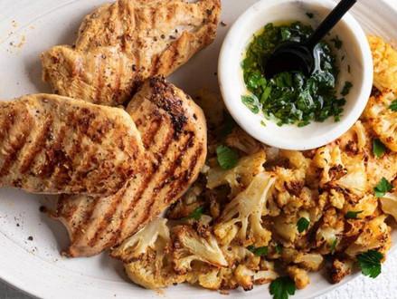 Nieuw koosjer recept  -  gegrilde kipschnitzel met drie ingrediënten
