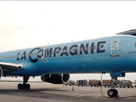 Franse luchtvaartmaatschappij La Compagnie lanceert vluchten van Tel Aviv naar Parijs en Newark
