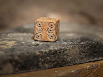 2.000 jaar oude dobbelsteen opgegraven in City of David
