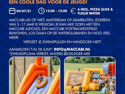 Maccabi Nederland organiseert weer een waterdag