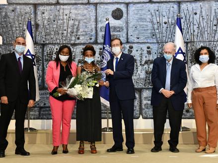 Prijs voor nieuwe immigranten die een uitzonderlijke bijdrage hebben geleverd aan Israël