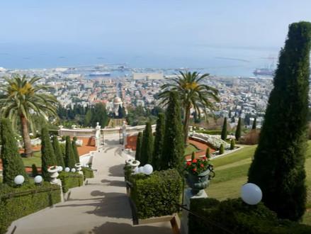 Loop met ons mee door Haifa