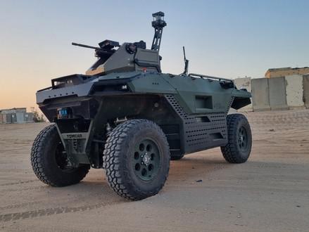 IAI onthult REX MK II: een nieuw onbemand landvoertuig met meerdere missies