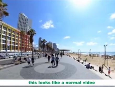Loop met Menno de Vries mee door Tel Aviv