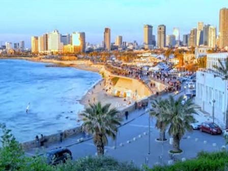 Tel Aviv ontwaakt uit de COVID-19 pandemie en gaat er weer vol tegen aan met evenementen