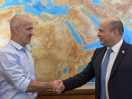 Ronen Bar door kabinet benoemd tot directeur van de Israëlische veiligheidsdienst Shin Bet