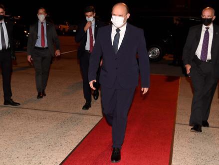 Opmerkingen premier Naftalie Bennett bij zijn vertrek uit Washington