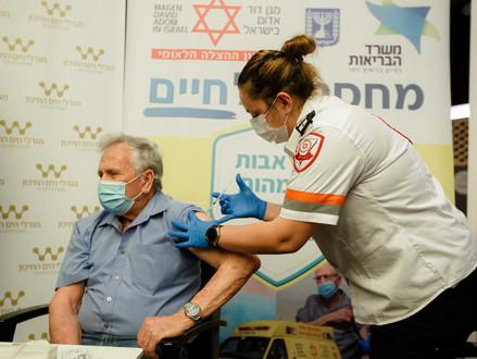 2.165 nieuwe besmettingen in Israël  -  3e vaccinatie komt eraan
