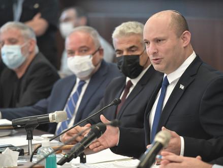 'Israëlis zijn verdeeld over nieuwe regering' blijkt uit peiling