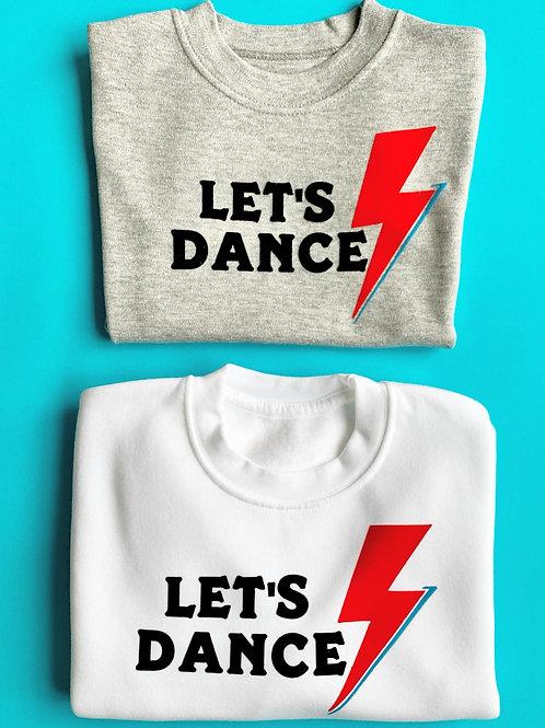 Let's dance T-shirt- grey