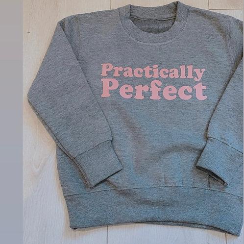 Practically perfect Sweatshirt-grey