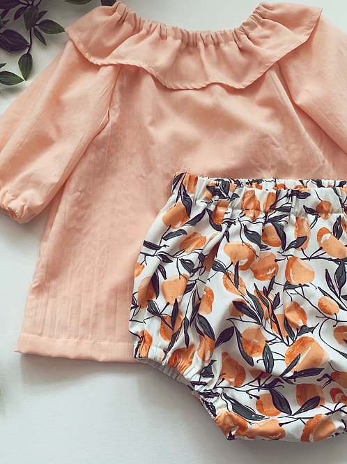 Blouse- Peach
