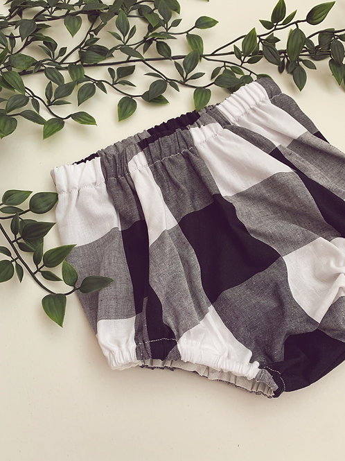 Bloomers- Oversized gingham