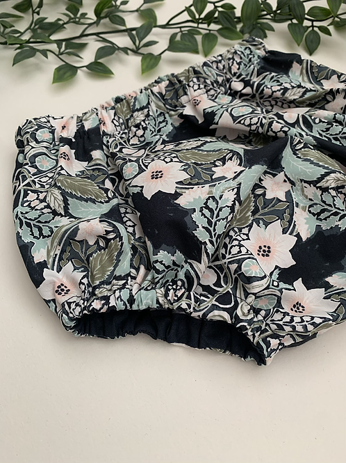 Bloomers-Navy & Pink floral
