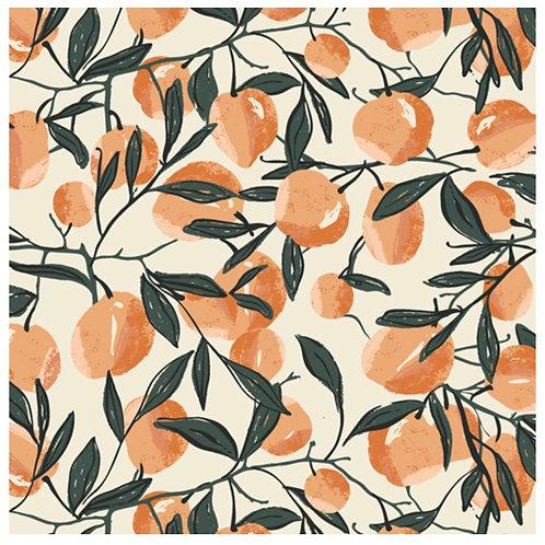 peaches summer dress