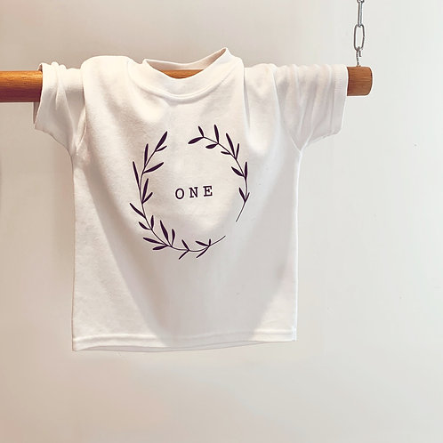 Age & Initial T-shirts