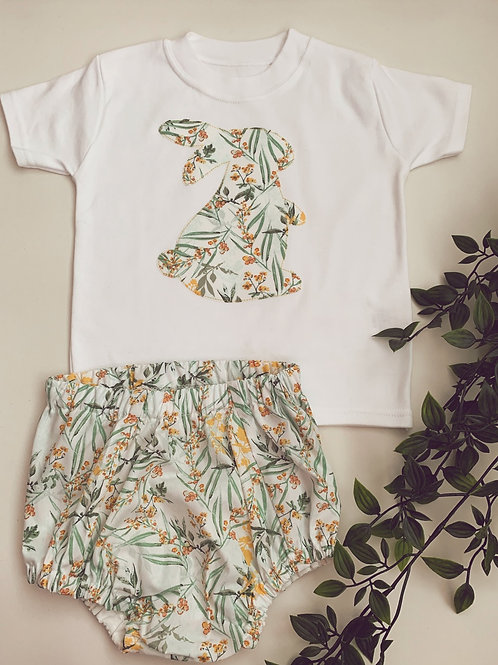 Spring Bloomers & T-shirt set-Limited edition