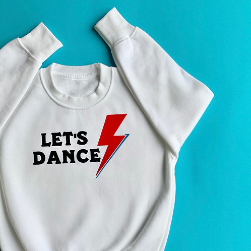 Ladies Lets Dance sweatshirt