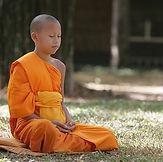 Novice-Beginner-Buddhist-Boy-Meditation-