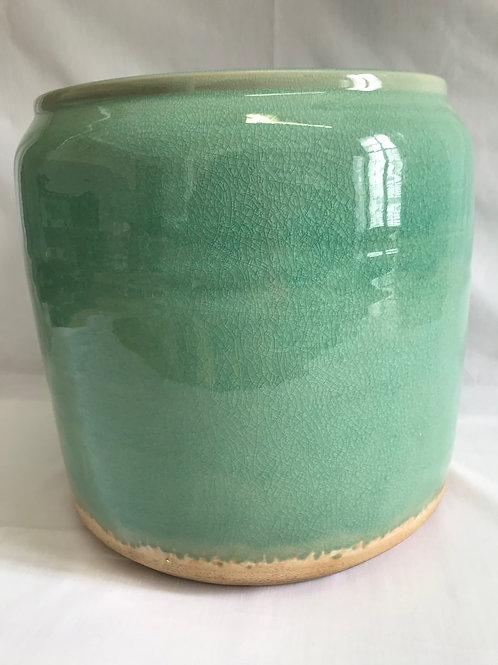 Ceramic Turquoise Pottery Pot