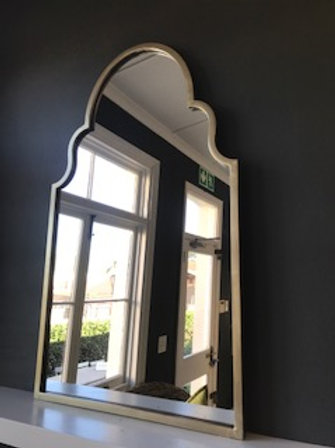 Antique Gold Arched Mirror