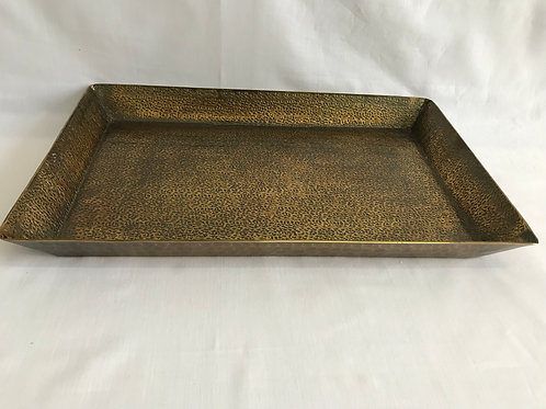 Rectangle Antique Brass Tray