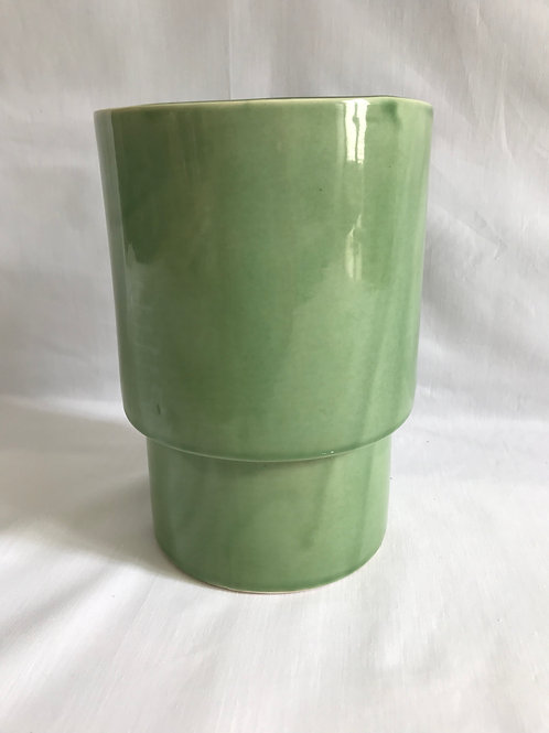 Bud Green/Grey Vase