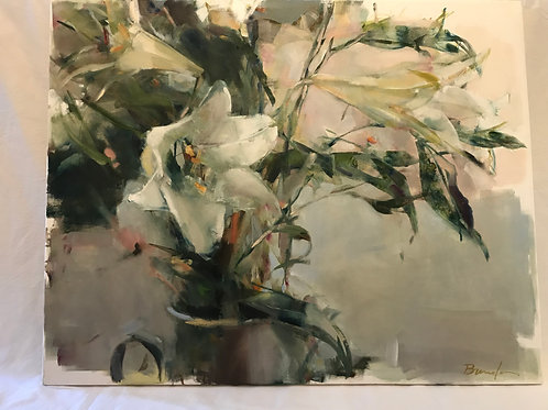 Lilies Oil Painting