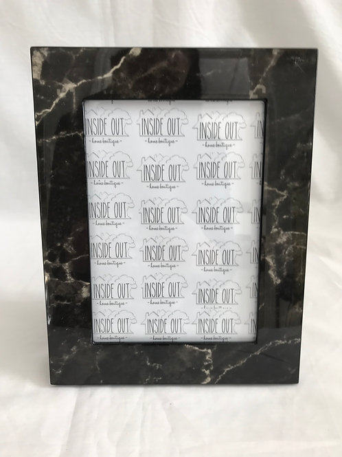 Black/ Grey Wood Lacquer Frame