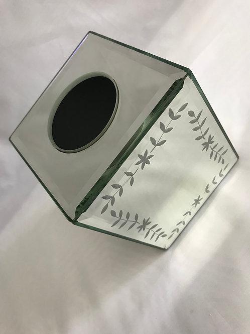 Mirror Tissue Box