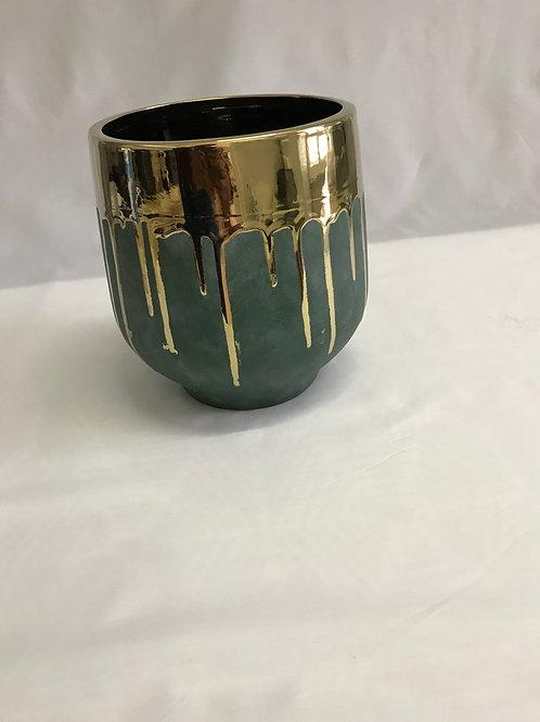 Medium Gold Drip Hurricane