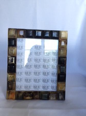 Natural & Black Horn Segmented Frame