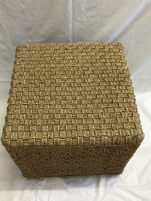 Square Seagrass Side Table