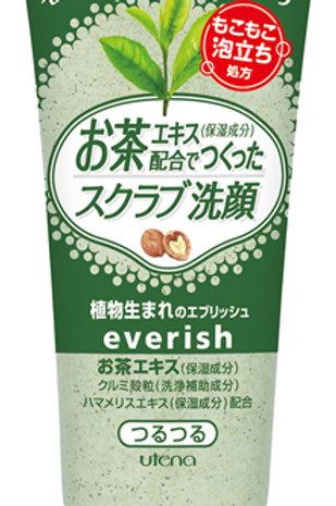 Everish 綠茶磨砂潔面膏