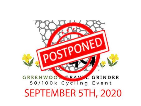 Greenwood Gravel Grinder reschedule for 2020