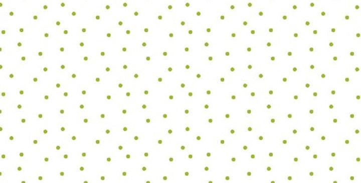 BW-Stoff Tupfen weiss-grün