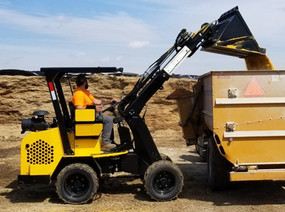Hummerbee Articulated Compact Loader