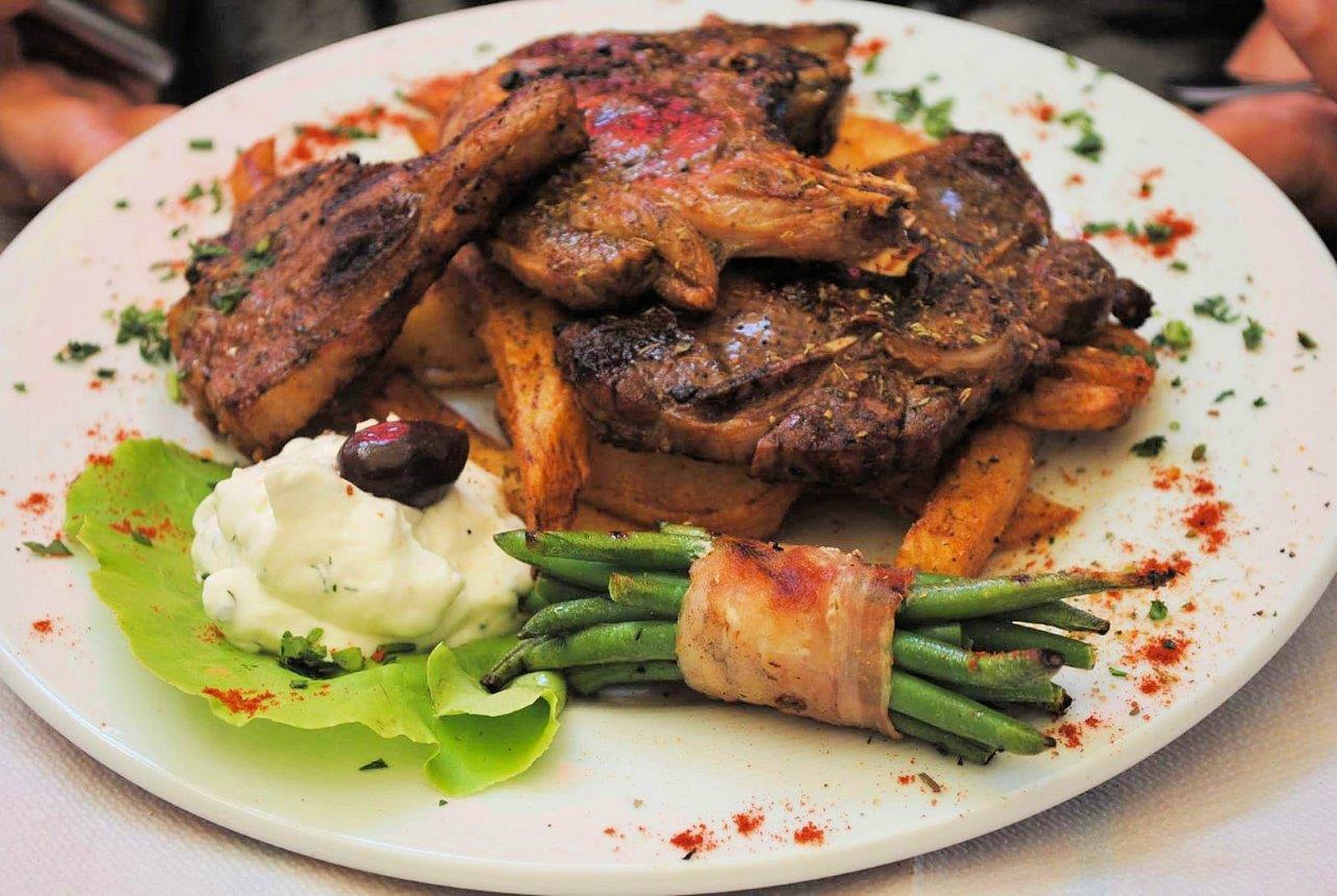 griechisches Fleischgericht