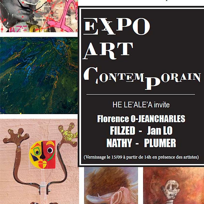 Exposition d'Art Contemporain, Galerie d'Art - Espace culturel Leclerc