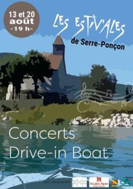 Les Estiv'ales Drive-in Boat